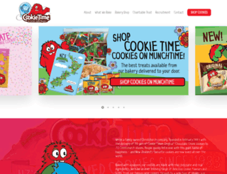 cookietime.co.nz screenshot