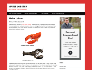 cooking-lobster.com screenshot