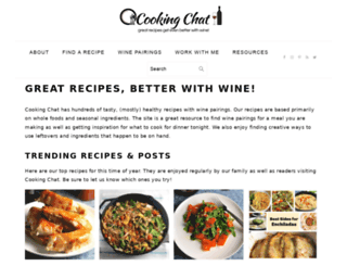 cookingchat.blogspot.com screenshot