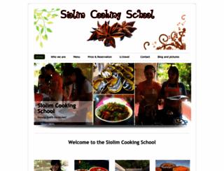 cookingclassesgoa.com screenshot