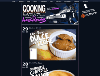 cookingcomically.com screenshot