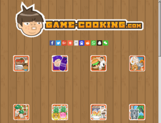 cookingdressup.com screenshot