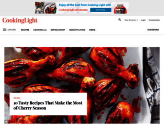 cookinglight.com screenshot