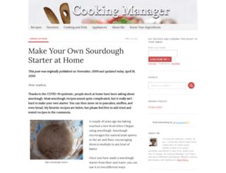 cookingmanager.com screenshot