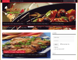 cookingmela.com screenshot