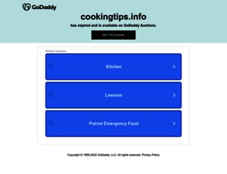 cookingtips.info screenshot