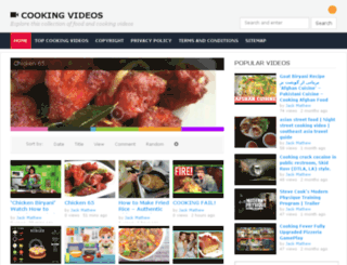 cookingvid.info screenshot