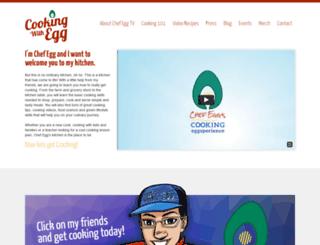 cookingwithegg.com screenshot
