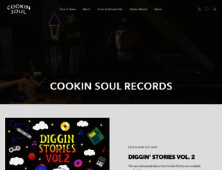 cookinsoul.com screenshot