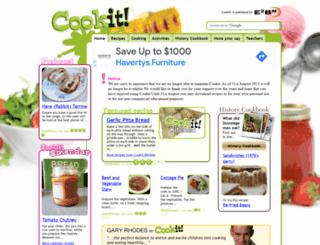 cookit.e2bn.org screenshot