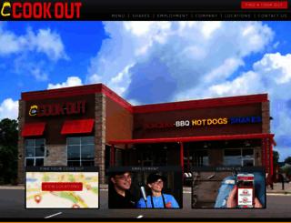 cookout.com screenshot