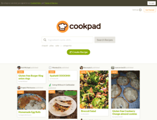 cookpad.com screenshot