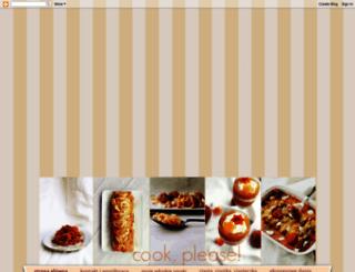 cookplease.blogspot.com screenshot