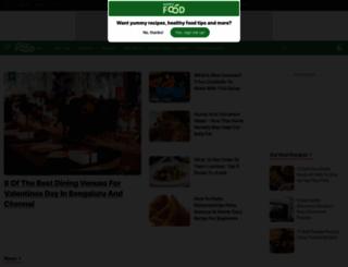 cooks.ndtv.com screenshot