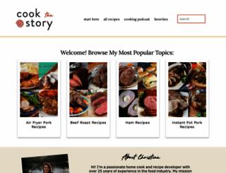 cookthestory.com screenshot