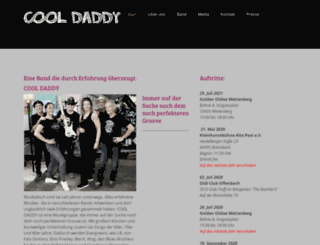 cool-daddy-music.de screenshot
