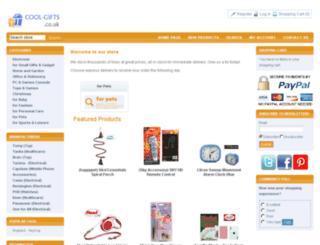 cool-gifts.co.uk screenshot