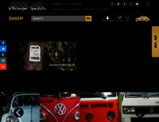coolairvw.co.uk screenshot