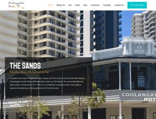 coolangattasandshotel.com.au screenshot