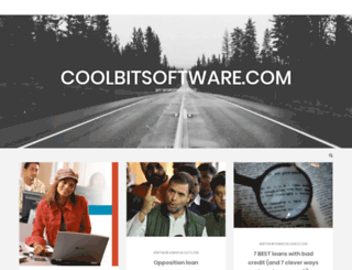 coolbitsoftware.com screenshot