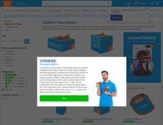 coolbluefanshop.nl screenshot