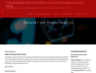 coolbusinessideas.com screenshot