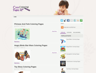 coolcoloringpages.blogspot.com screenshot