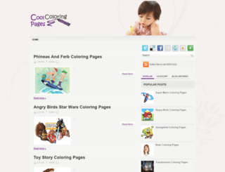 coolcoloringpages.blogspot.hk screenshot
