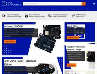 coolcomponents.co.uk screenshot