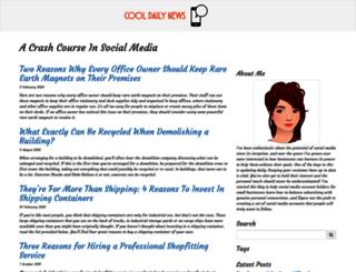cooldailynews.com screenshot