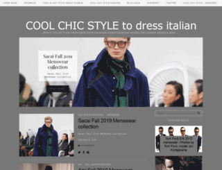 coolechicstyletodressitalian.blogspot.com screenshot