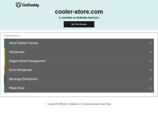 cooler-store.com screenshot