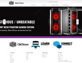 coolermaster-usa.com screenshot
