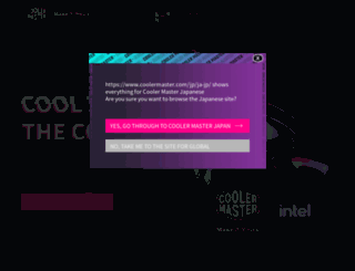 coolermaster.co.jp screenshot