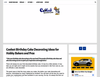 coolest-birthday-cakes.com screenshot