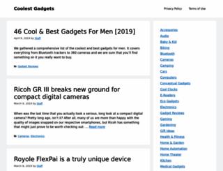 coolest-gadgets.com screenshot