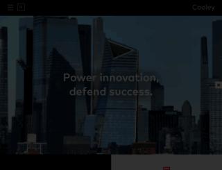 cooley.com screenshot
