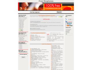 coolfreeringtones.com screenshot