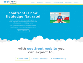 coolfront.com screenshot