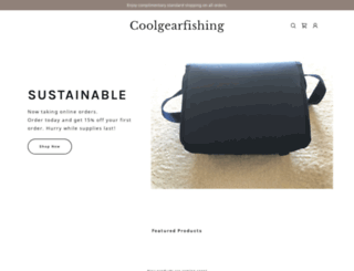 coolgearfishing.com screenshot