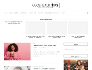 coolhealthtips.com screenshot