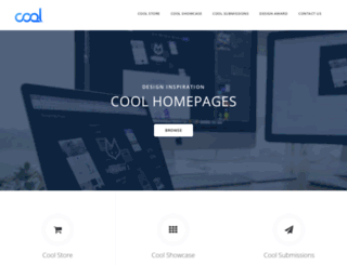 coolhomepages.com screenshot