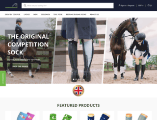 coolhorsesocks.co.uk screenshot