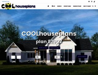 coolhouseplans.com screenshot