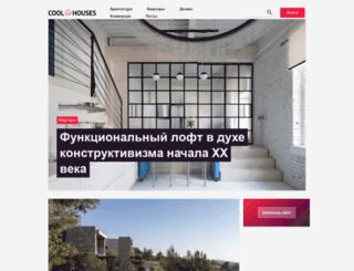coolhouses.ru screenshot