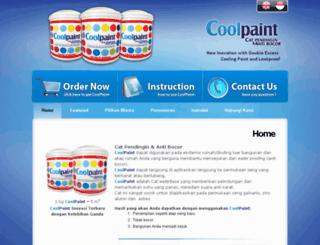 coolingpaint.com screenshot
