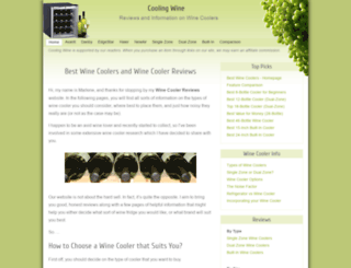coolingwine.com screenshot