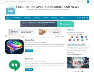 cooliphoneipadapps.com screenshot
