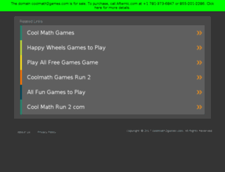 coolmath2games.com screenshot