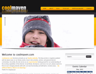 coolmaven.com screenshot